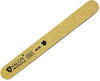 Пилки для ногтей SALON PROFESSIONAL (80/80) тефлон, прямые, узкие, золото