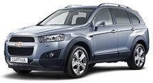 Килимки автомобільні у салон Chevrolet Captiva II FL 2012-2020