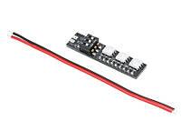 Светодиодный модуль RGB 3x5050 для лучей мультикотеров (5В)
