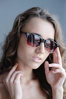 Солнцезащитные очки  в оправе коричневого цвета