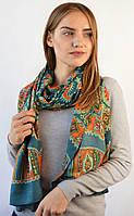 Женский шарф с хаотичным  рисунком