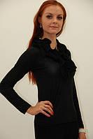 Женская блуза Жабо, цвета в ассортименте