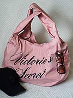 """Сумка """"Victorias Secret"""" из плащёвки. Пудра, 11 цветов."""