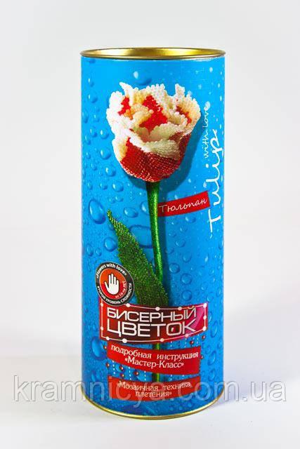 "Набор для творчества ""Бисерный цветок Тюльпан"" (БЦ-04)"