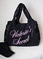 """Сумка """"Victorias Secret"""" из плащёвки. Чёрная, 11 цветов."""