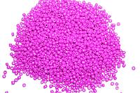 Бисер 100 грамм (МЕЛКИЙ) Deluxe 14 (16 розовый)