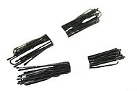 Шпильки черные для волос (10шт) 6см