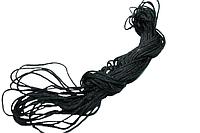 Веревка бижутерная 15м/1.5мм синтетическая (Для Шамбалы ) Черный