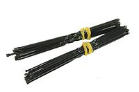 Шпильки черные для волос (10шт) 8см