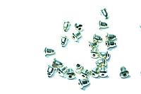 Фиксатор для швенз (50шт.) Серебро
