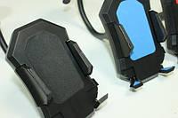 Держатель для телефона автомобильный (присоска на стекло):Черный