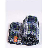 Слинг шарф Легкий и мягкий Зеленая шотландка  4,7 м Макошь (СШЛМ54)