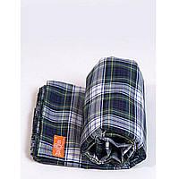 Слинг шарф Легкий и мягкий Зеленая шотландка  5,4 м Макошь (СШЛМ55)