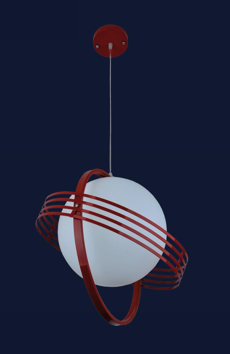 Стильный подвесной светильник 7076195-1 КРАСНЫЙ