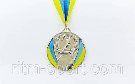 Медаль спортивная с Украинской символикой, фото 2