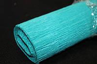 Бумага Гофрированная разные цвета (2.5 м/50см/0.54мм):Бирюзовый (13)