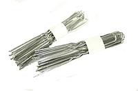 Шпильки для волос серебристые (10шт) 6см