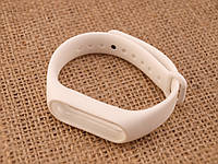 Запасной ремешок браслет для Mi Band M2 Белый