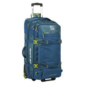 Сумка-рюкзак на колесах Granite Gear Cross Wheeled Trek 131 Bleumine/Blue Frost/Neolime 924428