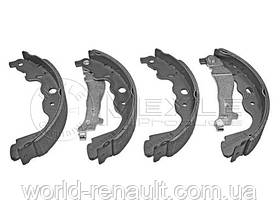 Барабанные тормозные колодки (задние) Renault Kangoo II с 2008г./ Meyle 16-145330016
