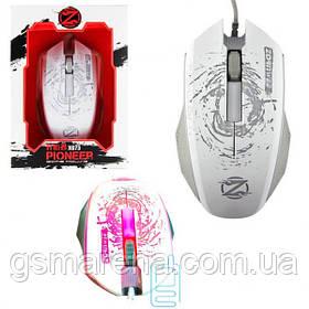Мышь игровая Zornwee XG73 Pioneer с подсветкой белая
