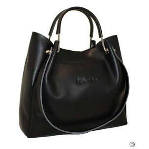 78a37bfcf80b Красивая и комфортная сумка из натуральной черной кожи: продажа ...