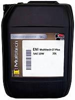 ENI Multitech CT Plus 10W (20л) Трансмиссионное масло для Caterpillar, Komatsu