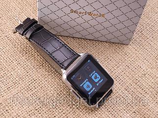 Розумні годинник Smart Watch X7 Leather Шкіра