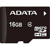 Карта памяти ADATA 16GB microSDHC Class 4 (AUSDH16GCL4-R)