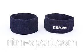 Пов'язка на голову махрова Wilson, фото 2
