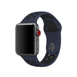 Смарт-часы APPLE Nike+ ремешок 38мм. star gray-black-cool gray