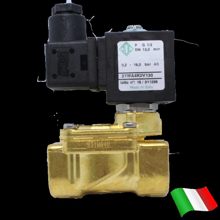 f9a10270bba ... фото Электромагнитный клапан для воды нормально закрытый G1 2 (ODE