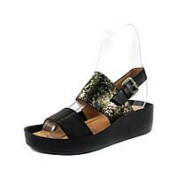 Босоножки женские Allshoes 9002 черная кожа