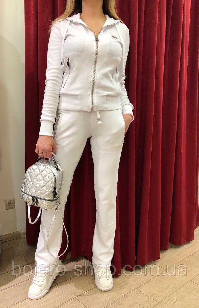 Костюм спортивный женский Dolce Gabbana белый котон