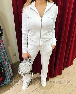 Костюм спортивный женский Dolce Gabbana белый котон, фото 2