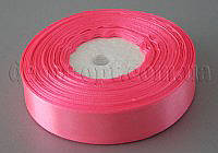 Стрічка атласна яскраво-рожева 2,00 см 36ярд 05