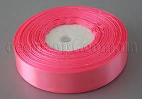 Лента атласная ярко-розовая 2,00 см 36ярд 05