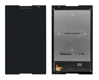 Оригинальный дисплей Lenovo Tab S8-50 черный (LCD экран, тачскрин, стекло в сборе)