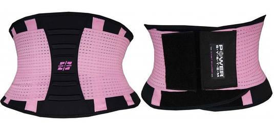 Пояс для поддержки спины Power System WAIST SHAPER PS-6031 Pink, S/M
