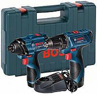 Шуруповерт Bosch GDR 120 LI + GSR 120 LI (06019F0002)