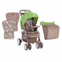 Прогулочная коляска Bertoni Foxy, цвет beige&green lambs