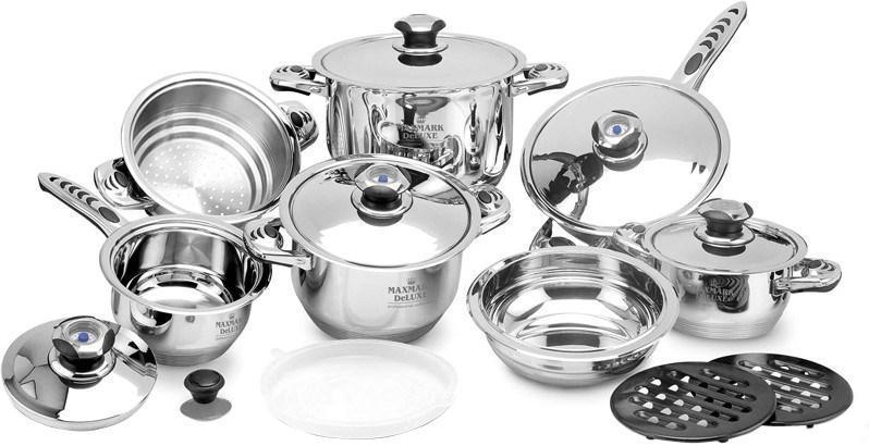 Набір посуд 16 предметів Maxmark SK-1116Z