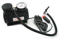 Компрессор синий air compressor (blue), Портативный компрессор насос для шин, Компрессор от прикуривателя, фото 1