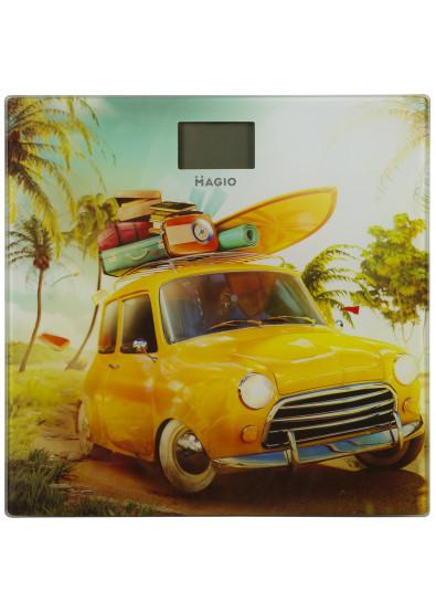 Весы напольные Magio MG-809 150кг/ж/к диспл./стекло
