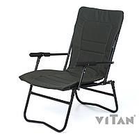 Vitan Кресло «Белый Амур»  Vitan, ? 20ммб (Зеленый Меланж)
