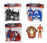 Игровой набор 564-681 маска Супергероя и фигурка