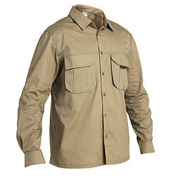 Рубашка охотничя мужская Solognac 500 island desert