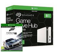 Стационарный внешний винчестер Seagate Game Drive HUB 8TB для Xbox One STGG8000400 + игра Forza Motosport 7