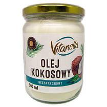 Кокосовое масло рафинированное Olej Kokosowy Vitanella 500мл Польша