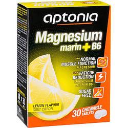 Магний + B 6 лимонный вкус Aptonia x 30